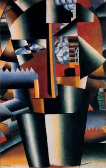 Retrato Aperfeiçoado de I V Kliun-Kasimir Malevich