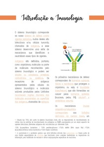 Introdução a Imunologia - Células Imunocompetentes / Órgãos Linfoides Primários e Secundários