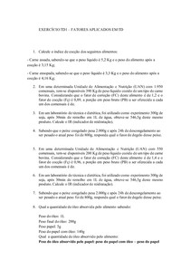 EXERCÍCIO TD1 - FATORES
