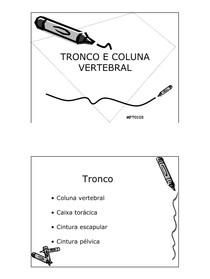 Biomecanica do Tronco e Coluna