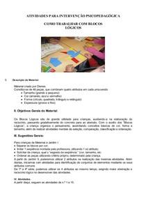 ATIVIDADES_PARA_INTERVENÇÃO_PSICOPEDAGÓGICA_BLOCOS_LÓGICOS