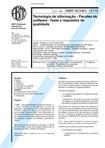 NBR 12119 - Tecnologia de informacao - Pacotes de software - Teste e requisitos de qualidade