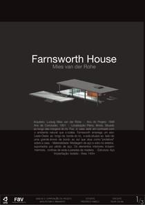 Farnsworth House   Mies van der Rohe   Pranchas (Felipe Sousa) agora vai