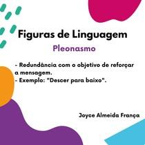 Figuras de Linguagem - Pleonasmo