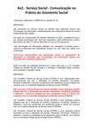AV 2 Comunicação na Prática do Assistente Social