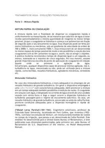 TRATAMENTO DE ÁGUA - parte 1