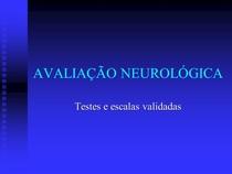 testes ,neurologicos