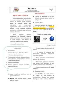 Apostila 2 - Estrutura atômica