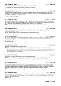 AV1 e AV2 hergonomia, higiene e segurança do trabalho - 75 Questões do Banco de Questões