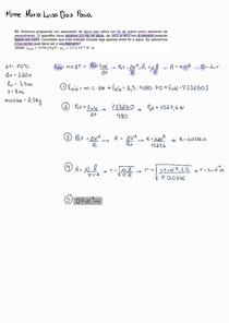 [Corrigida] Prova Física - Corrente Elétrica, Circuito RC e campo magnético