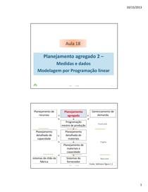 PCPII 3- planejamento agregado 2