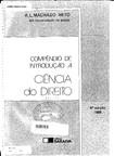 Machado Neto, A. L. - Compêndio de Introdução à Ciência do Direito