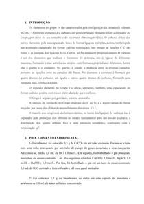 Relatório Inorgânica GRUPO 14