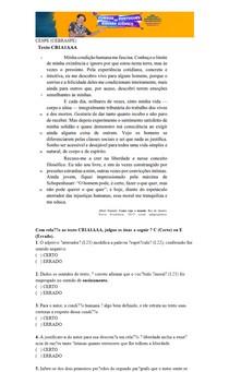 CESPE / CEBRASPE - 15 questões com Gabarito