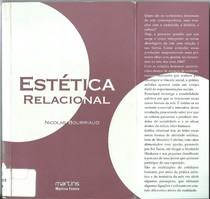 estetica relacional nicolas bourriaud