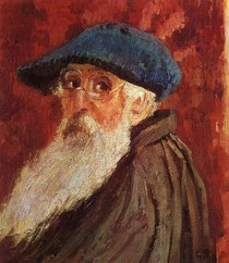 Self Portrait I-Claude Monet