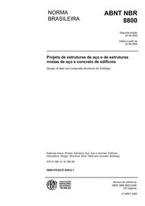ABNT NBR 8800:2008