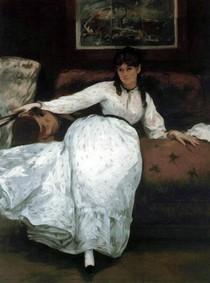 Edouard Manet - Le-Repos