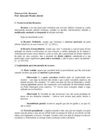 7S - RE - Processo Civil - Recursos