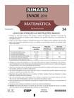 ENADE 2014 - Prova Matemática