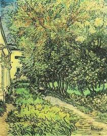 Vincent Willem van Gogh-The-Jardim-de-Saint-Paul-Hospital-Green