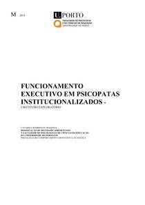 FUNCION EXEC EM PSICOPATAS INSTITUCIONALIZADOS
