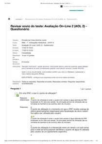 AOL 2 Instalações H