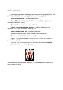Lesões endoperio