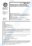 NBR 14611   2000   Desenho Técnico   Representação de Estruturas Metálicas