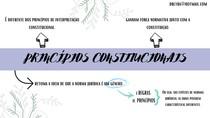 PRINCÍPIOS CONSTITUCIONAIS - REGRAS E PRINCÍPIOS