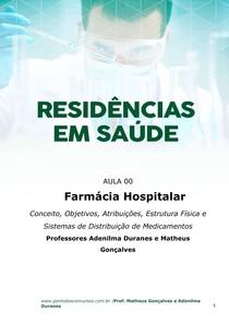 Assunto Da Farmacia Hospitalar Farmácia Hospitalar