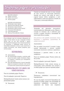 Patologia pulpar e perirradicular - endodontia