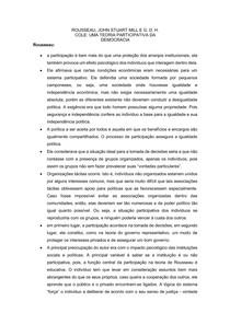 teoria participativa
