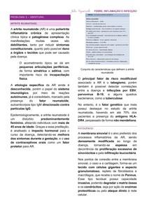 Resumo - Artrite Reumatoide