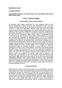PARA COULANGES DE LIVRO FUSTEL A BAIXAR ANTIGA CIDADE
