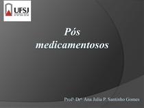 A5 e A6 PósFarmaceuticos