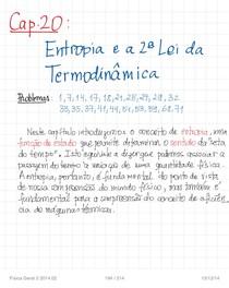 Resumo Física 2 - Prof. Lúcio Acioli UFPE - Cap20