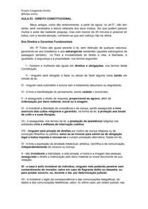 AULA 03- Direito Constitucional - Curso Estágio TJMG