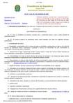 Lei n.º 11.445, de 05 de janeiro de 2007 e alterações