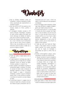 Semiologia - Clinica - Diabetes