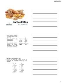 2 Aula Quimica dos Carboidratos
