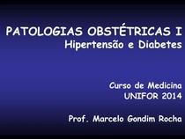 Conf 3 - Patologias Obstétricas