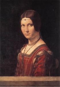 Leonardo Da Vince - La belle Ferroniere
