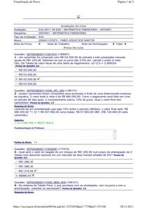 AV2 - Matemática Financeira