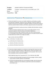legislação trabalhista e previdenciária prova 1 flax.docx