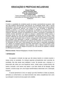 EDUCAÇÃO E PRÁTICAS INCLUSIVAS (1)