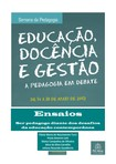 artigos sobre pedagogia