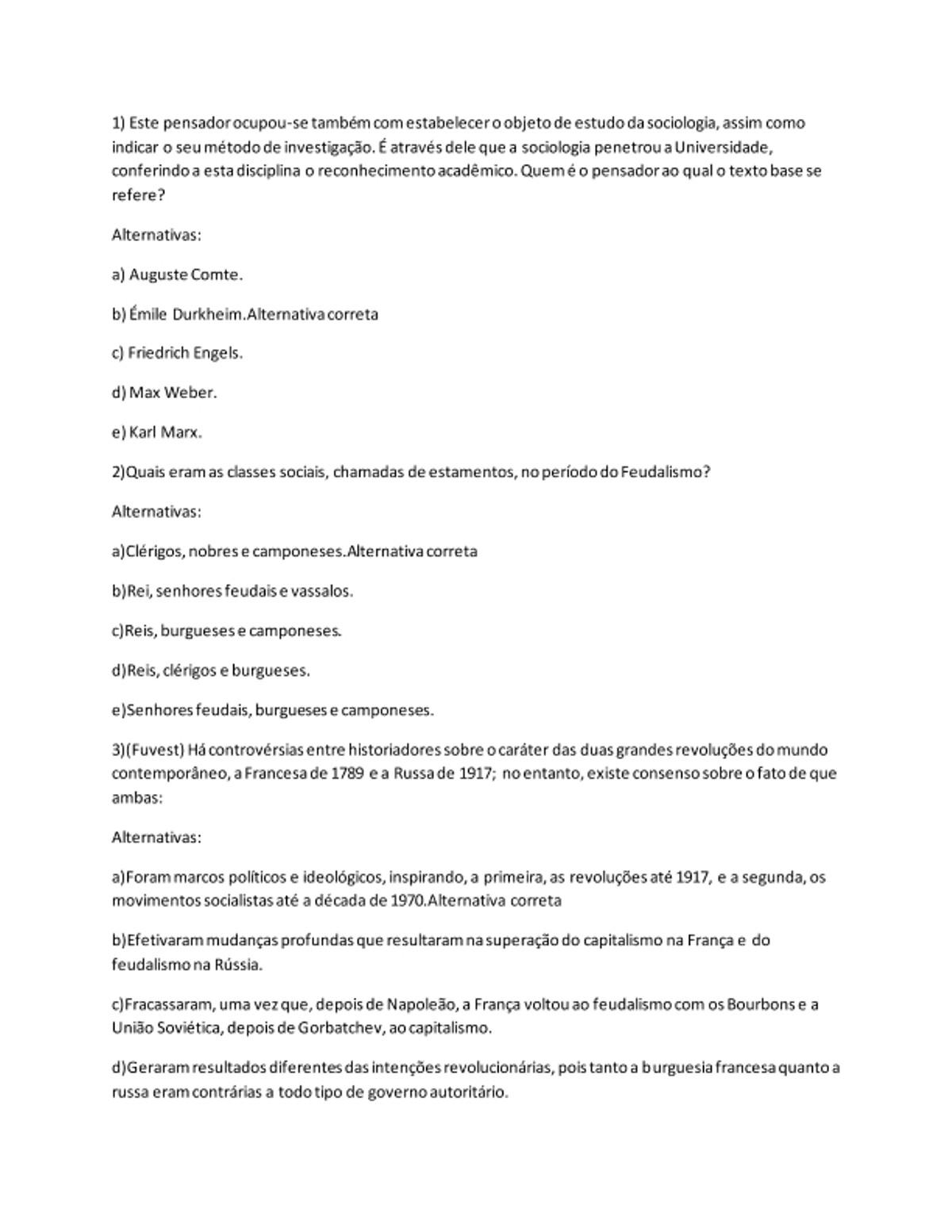 Pre-visualização do material Atividade Diagnóstica 01   Homem, Cultura e Sociedade - página 1