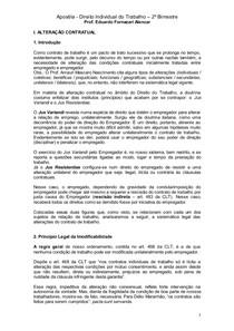 Apostila - Direito Individual do Trabalho (parte II)