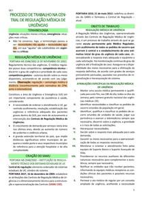 processo de trabalho na central de regulação médica de urgências